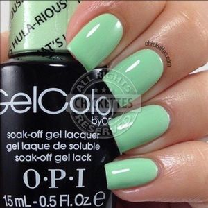 OPI Gelcolor that's hula-rious gel polish